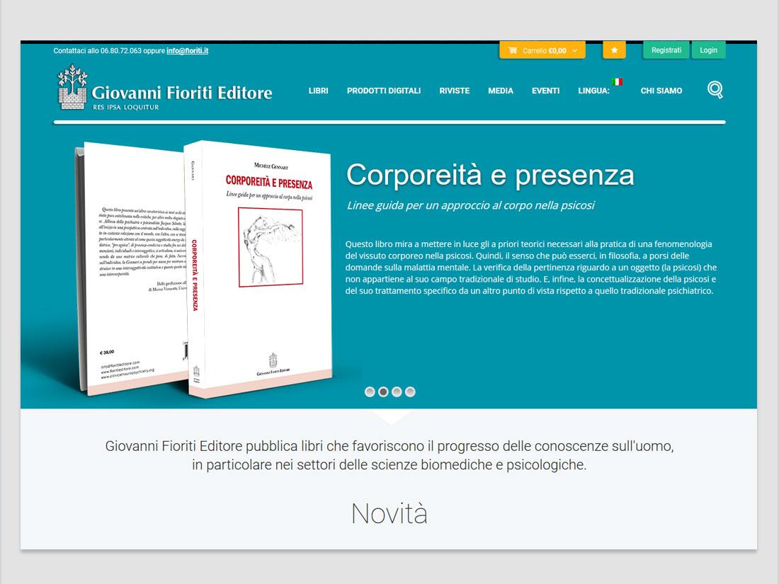 word+image - Giovanni Fioriti editore web Site