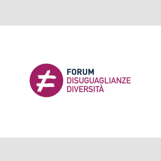 word+image - Logo Forum Disuguaglianze Diversità